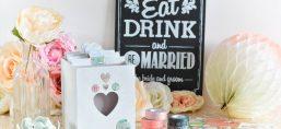 boîte recette cadeau mariés blog mariage