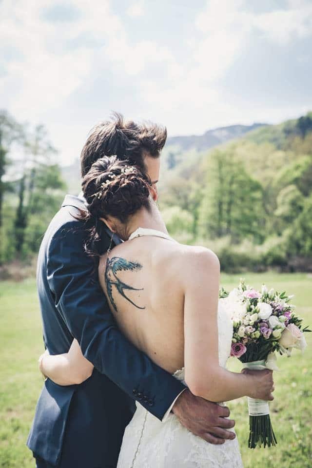 coiffure mariée bijou cheveux