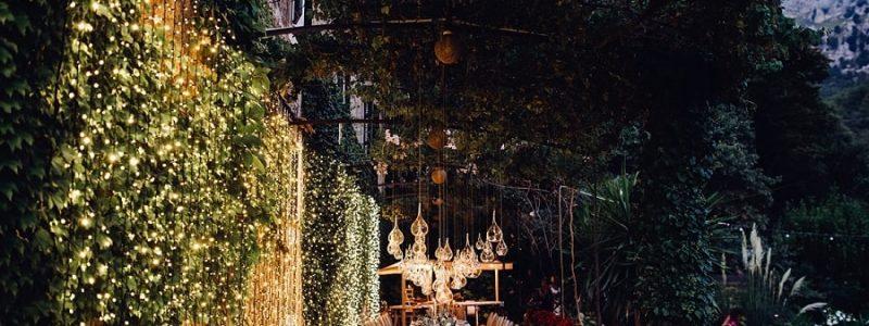 décoration mariage lumiere original