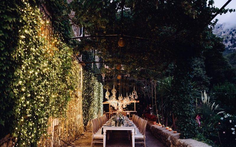 Décoration mariage : la lumière, star du jour J