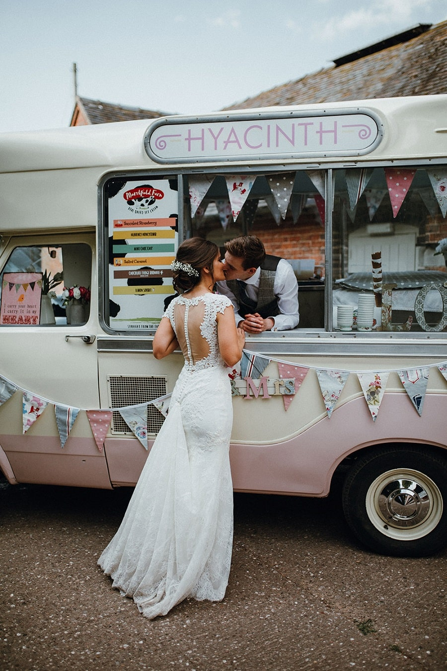 food truck glaces mariage