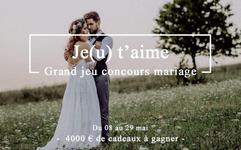 4 000 € de bons d'achat pour votre mariage
