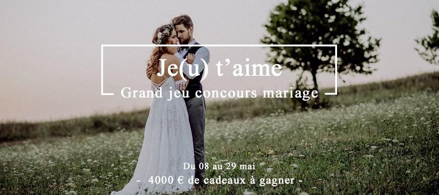jeu concours mariage